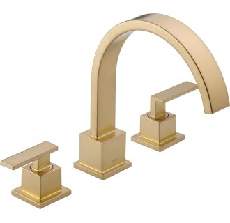 Faucet Com 77736 Cz In Champagne Bronze By Delta