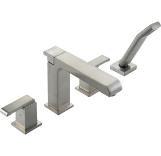 Delta T4786 Ss Brilliance Stainless Arzo Roman Tub Faucet