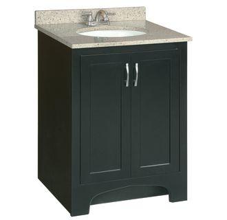 Design house 541235 espresso ventura 24 wood vanity for Bathroom cabinets ventura
