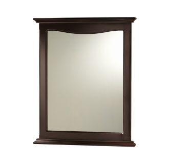 Fantastic  Contemporary Bathroom Vanity Espresso Finish With Mirror And Faucet