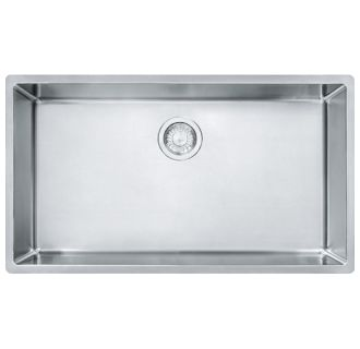 Franke Stainless Steel Farmhouse Sink : Franke CUX11030 Stainless Steel Cube 31-1/2