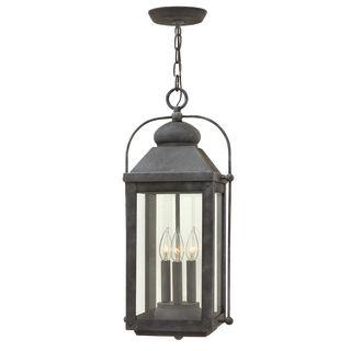 Hinkley Lighting 1852DZ Aged Zinc 3 Light Outdoor Multi Light Pendant From Th