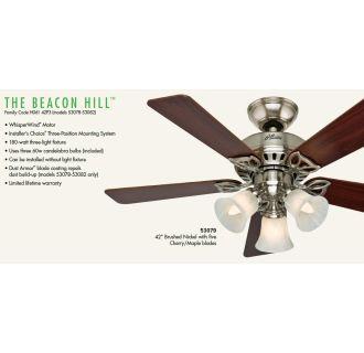 Hunter 53078 Antique Brass 42 Quot Indoor Ceiling Fan 5