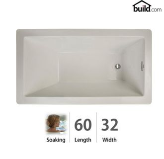 Jacuzzi Ell6032buxxxxy Oyster Elara Low Profile 60 X 32