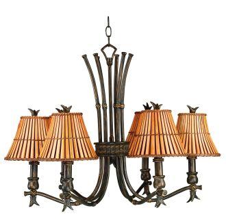 Kenroy Home 90456bh Bronze Heritage Kwai 6 Light 1 Tier