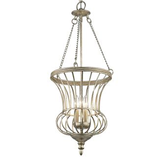 Kichler 42611sgd Sterling Gold Calla 3 Light Foyer Pendant