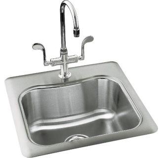Kohler K 3363 1 Na Stainless Steel Single Basin Stainless