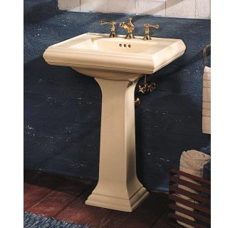 Kohler K 2238 8 47 Almond Memoirs Pedestal Lavatory With 8