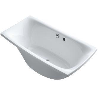 Faucet Com K 19034 1 0 In White By Kohler