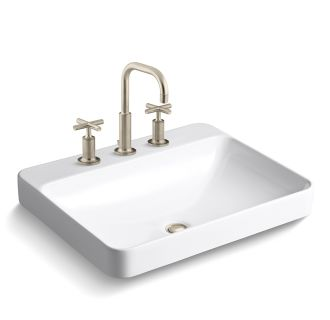 Faucet.com | K-14406-3/K-2660-8-BV in Brushed Bronze by Kohler