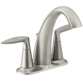kohler k 45100 4 bn vibrant brushed nickel alteo centerset bathroom