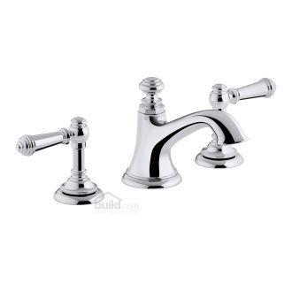 Kohler K 72759 4 Cp Polished Chrome Artifacts Widespread Bathroom Faucet With Lever Handles