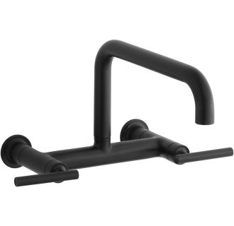 Faucet Com K 7549 4 Bl In Matte Black By Kohler