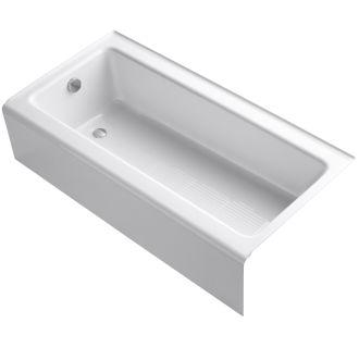 Kohler K 837 0 White Bellwether 60 Quot Alcove Soaking Tub