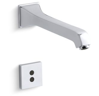 chrome memoirs wall mount bathroom faucet without drain assembly