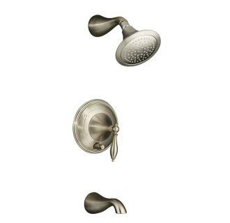 kohler k 363 bn brushed nickel traditional elegant towel ring from