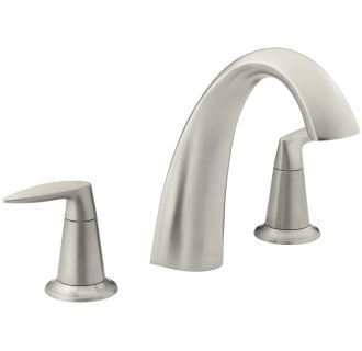 Kohler K T45115 4 Bn Vibrant Brushed Nickel Alteo Double
