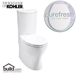 Kohler Purefresh K 3723 White Persuade Curv 1 6 Gpf