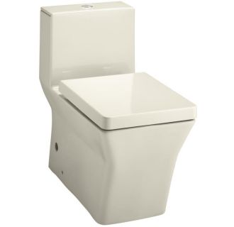 Kohler K 3797 47 Almond One Piece Elongated Toilet With