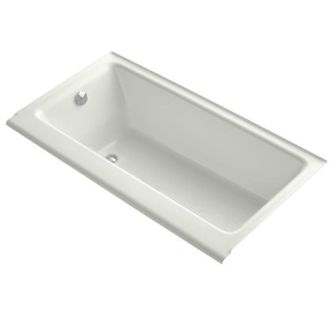 Kohler k 877 ny dune highbridge collection 60 drop in Cast iron tubs vs acrylic