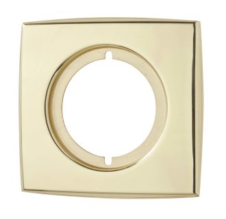 Kwikset Cp288 3 Polished Brass Small Rectangular