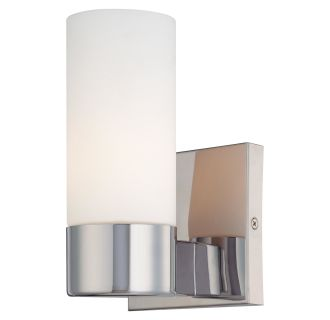 Mink Glass Wall Lights : Minka Lavery 6211-77 Chrome 1 Light 4.5