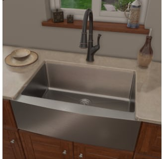 Mss3020f mk351 orb in oil rubbed bronze for Oiled bronze faucet with stainless steel sink