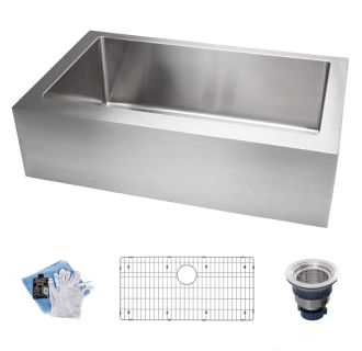 Miseno Mss3320ff 16 Gauge Stainless Steel 33 Quot Single Basin