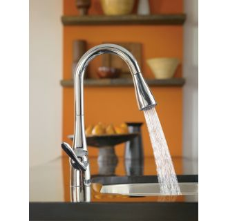 Moen 7594c Chrome Single Handle Pulldown Spray Kitchen