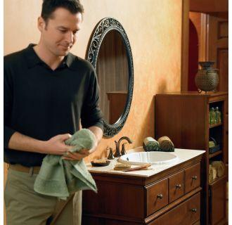 Moen T6420 Chrome Double Handle Widespread Bathroom Faucet