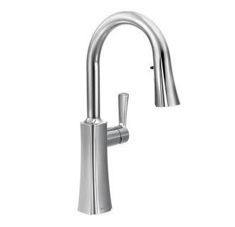 Moen S72608 Chrome Pull Down Spray High Arc Kitchen Faucet