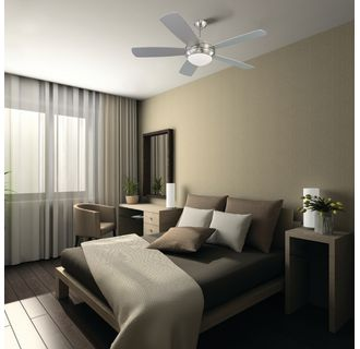 Monte Carlo 5di52rbd L Roman Bronze Five Bladed 52 Inch Ceiling Fan Blades And Light Kit
