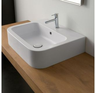Nameeks 8308. Faucet com   Scarabeo 8601 No Hole in White   No Hole by Nameeks