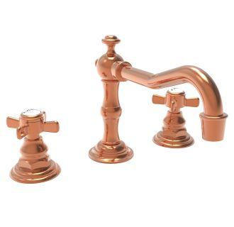 Newport Brass 1000 08 Polished Copper Widespread Bathroom