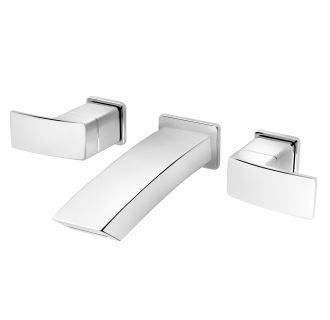df3c polished chrome kenzo wall mounted bathroom faucet less valve