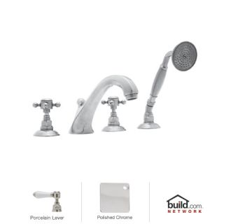 Rohl A1804lpapc Polished Chrome Country Bath Roman Tub