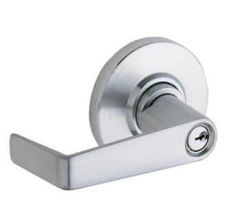 Schlage Al53pdsat626 Satin Chrome Saturn Keyed Entrance