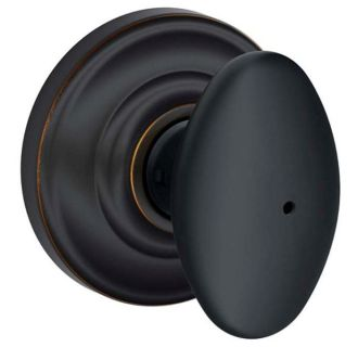 Schlage F40sie716and Aged Bronze Siena Privacy Door Knob