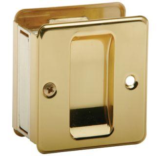 Schlage 990b3 Polished Brass 1 3 4 Inch X 2 1 4 Inch