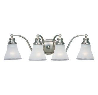 sea gull lighting 40012 773 two tone nickel alexandria 4 light. Black Bedroom Furniture Sets. Home Design Ideas