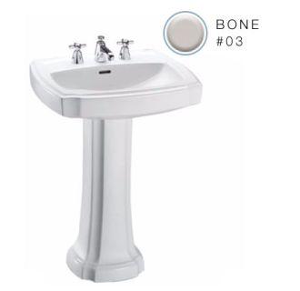 Toto Lpt972 8 03 Bone Guinevere 24 3 8 Quot Pedestal Bathroom