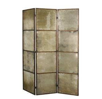 Uttermost 13364 P Antiqued Gold Avidan 3 Panel Antiqued