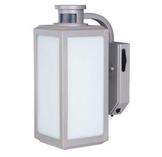 Vaxcel Lighting T0213 Satin Nickel Rand Single Light 13 Tall Photocell