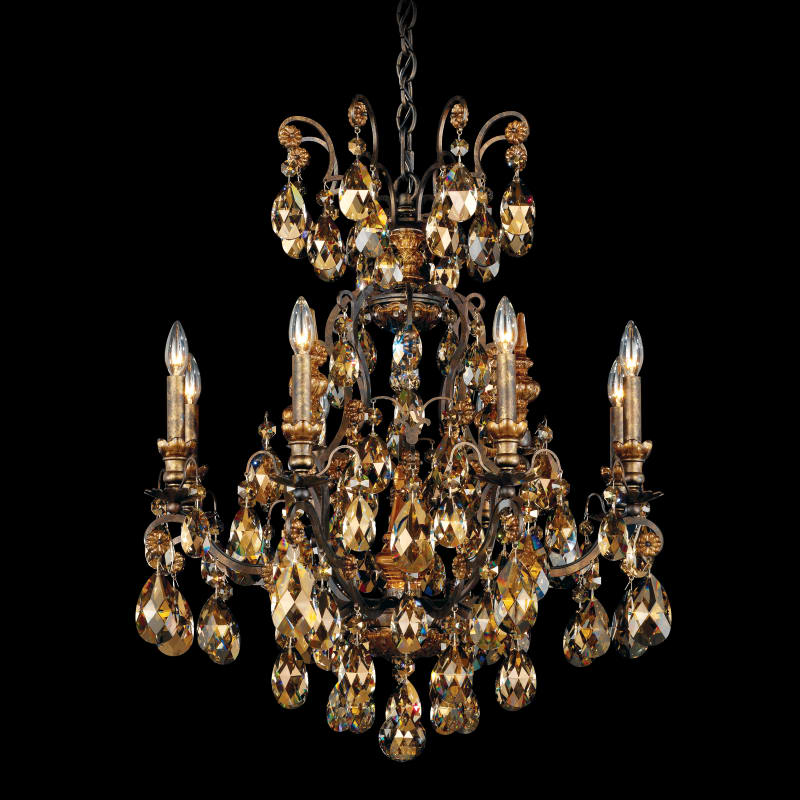 Sophia 35 Light Candle Style Tiered Chandelier