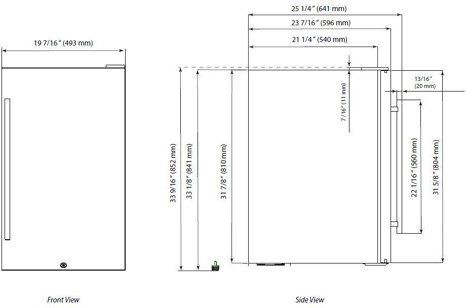 Edgestar Wiring Diagram - Wiring Diagrams on