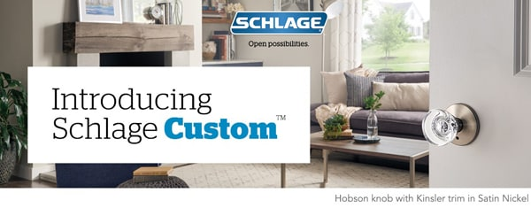 Schlage Custom FC/FCT Series Lifestyle Intro Banner