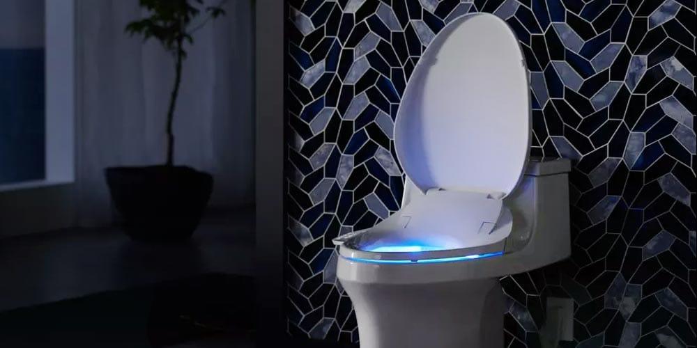 siège de toilette avec veilleuse