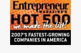 Hot 500 Web Pages Award1