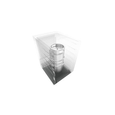 (1) Slim Quarter Keg