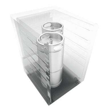 Up to 2 Sixth Barrel Kegs